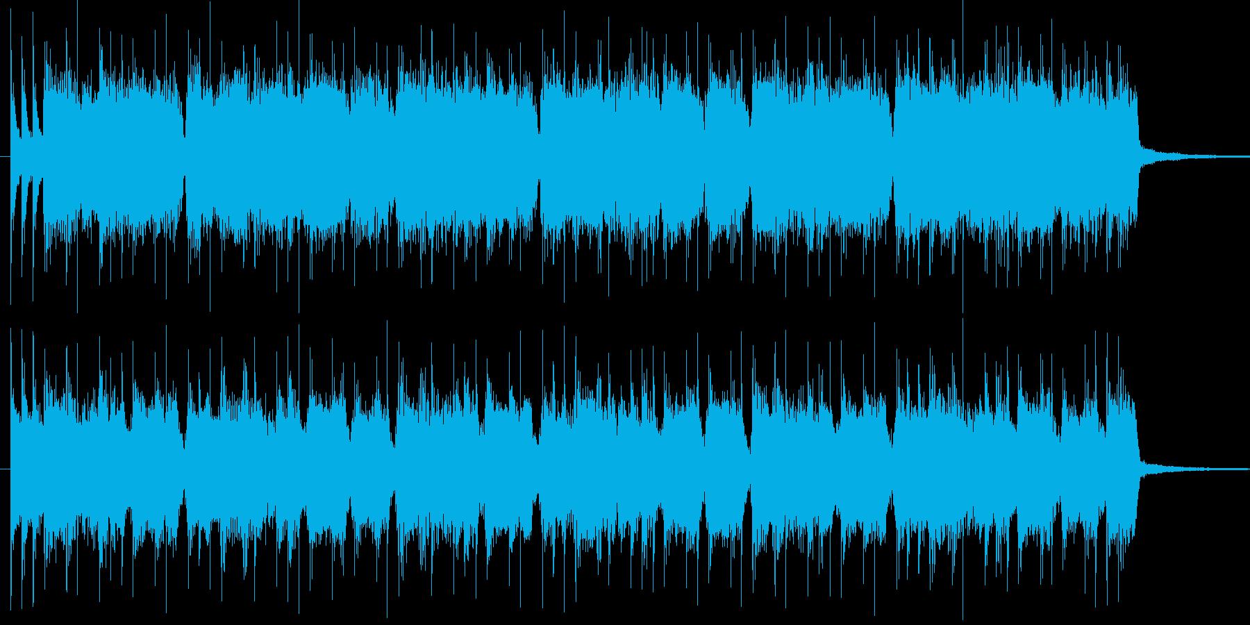 爽やかなアメリカン風ロックの再生済みの波形