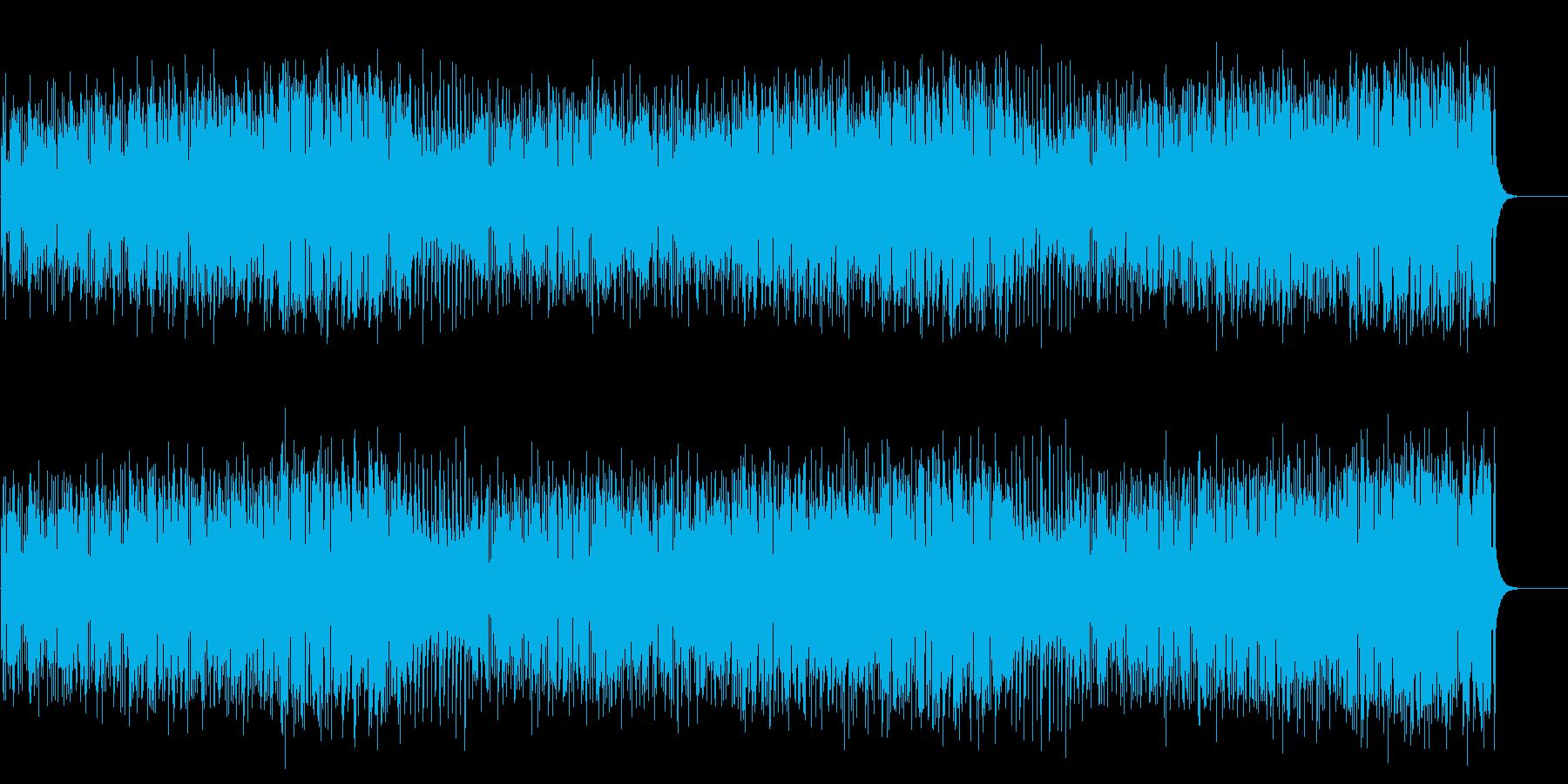 元気でおちゃめでR&Rなコミカルポップスの再生済みの波形