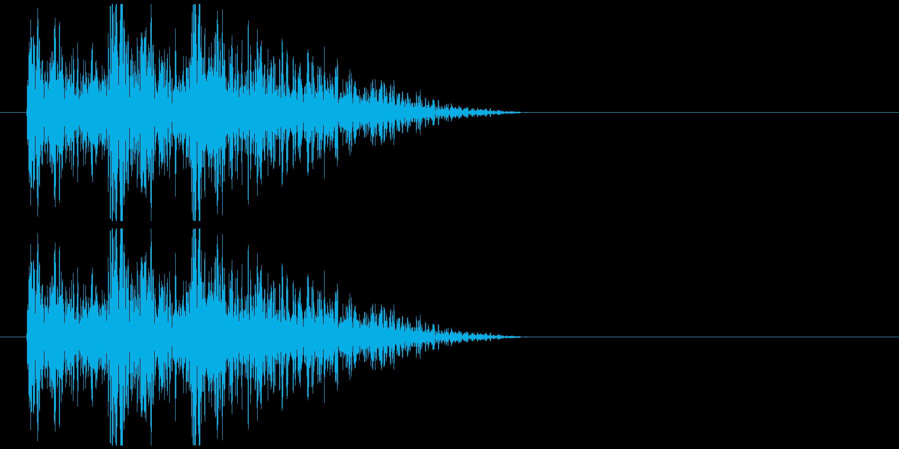 デデデン!クイズ出題 商品、人物紹介音の再生済みの波形