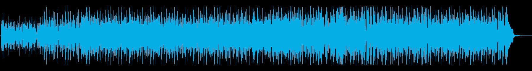 優しい印象のテクノポップの再生済みの波形