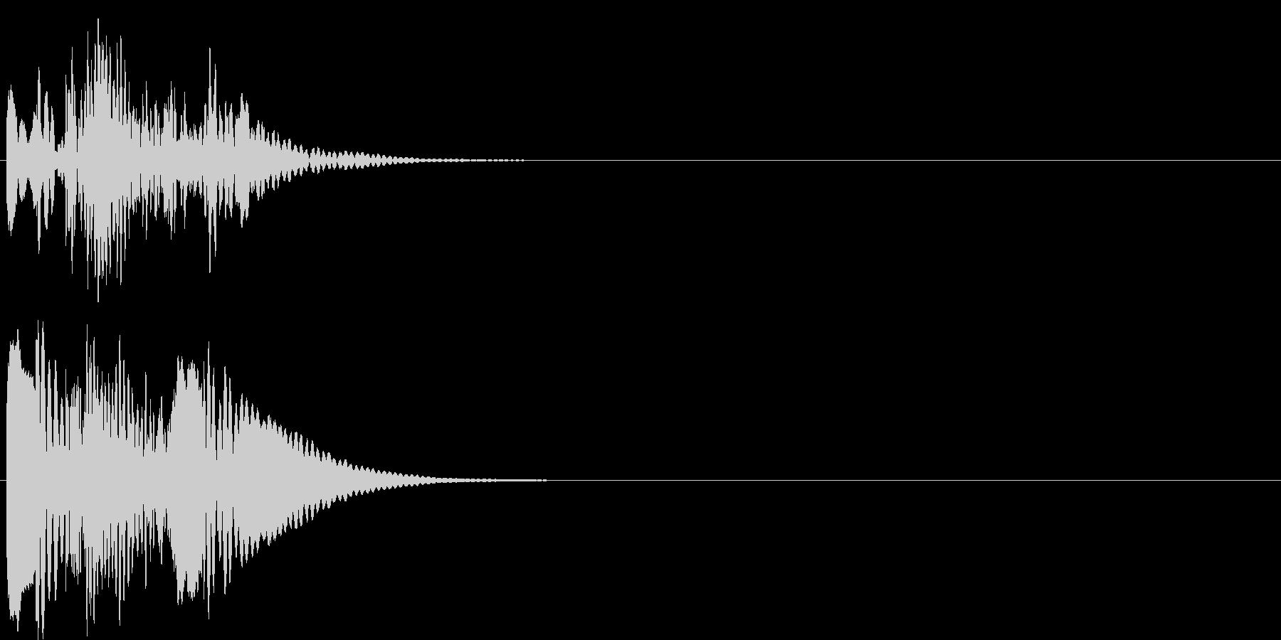 グリッサンド04 マリンバ(下降)の未再生の波形