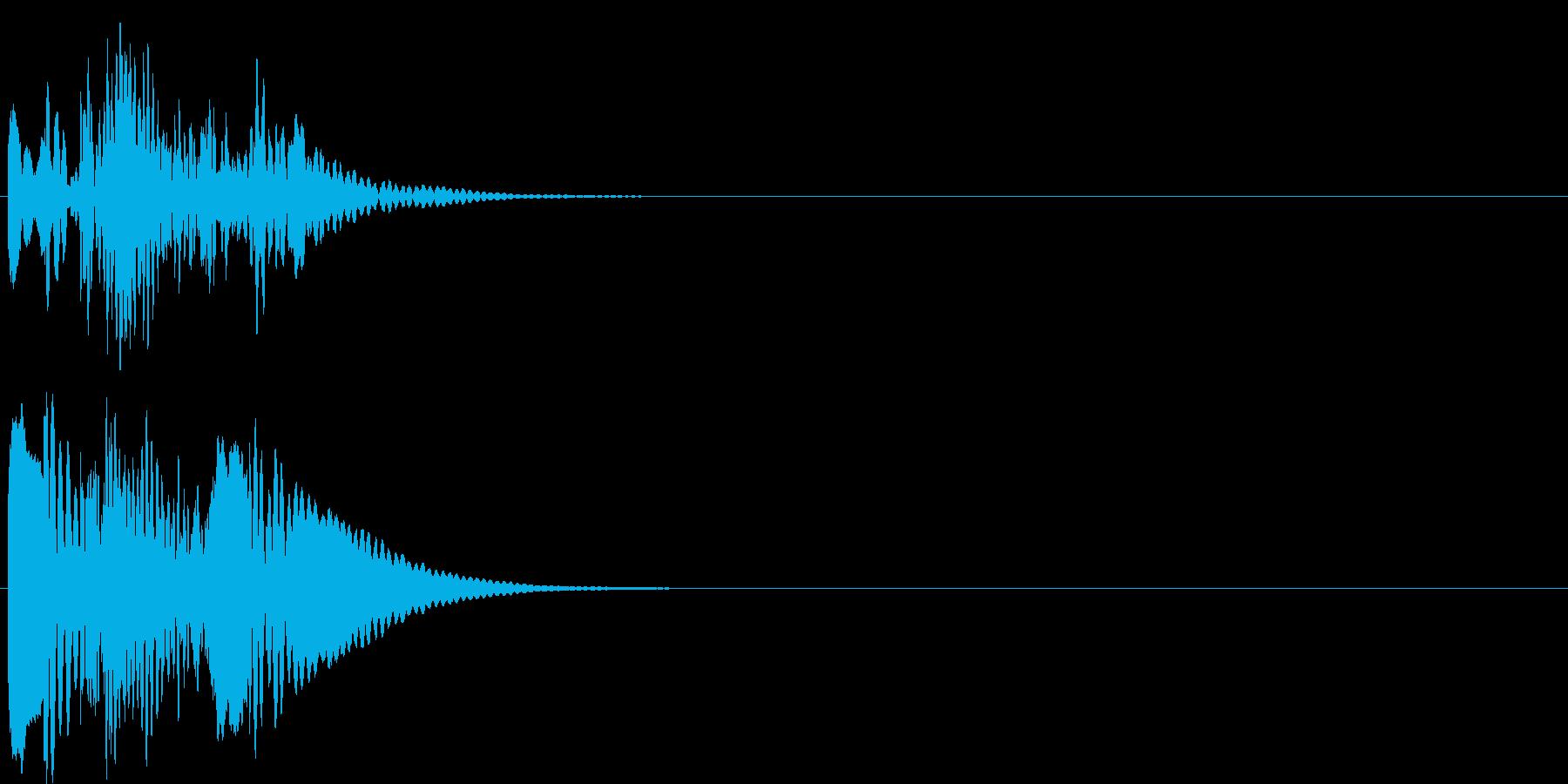 グリッサンド04 マリンバ(下降)の再生済みの波形