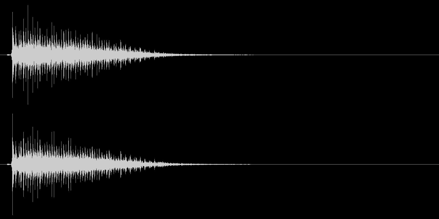 カァー(大物演歌歌手の歌でも使われてる)の未再生の波形