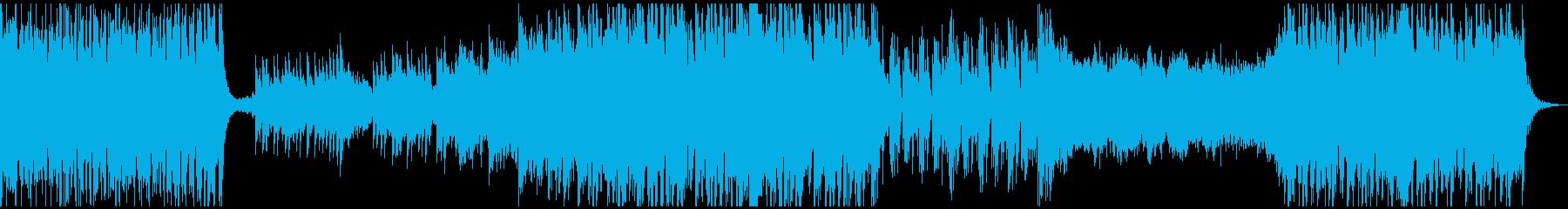 力強いオーケストラ パワフル 短調の再生済みの波形