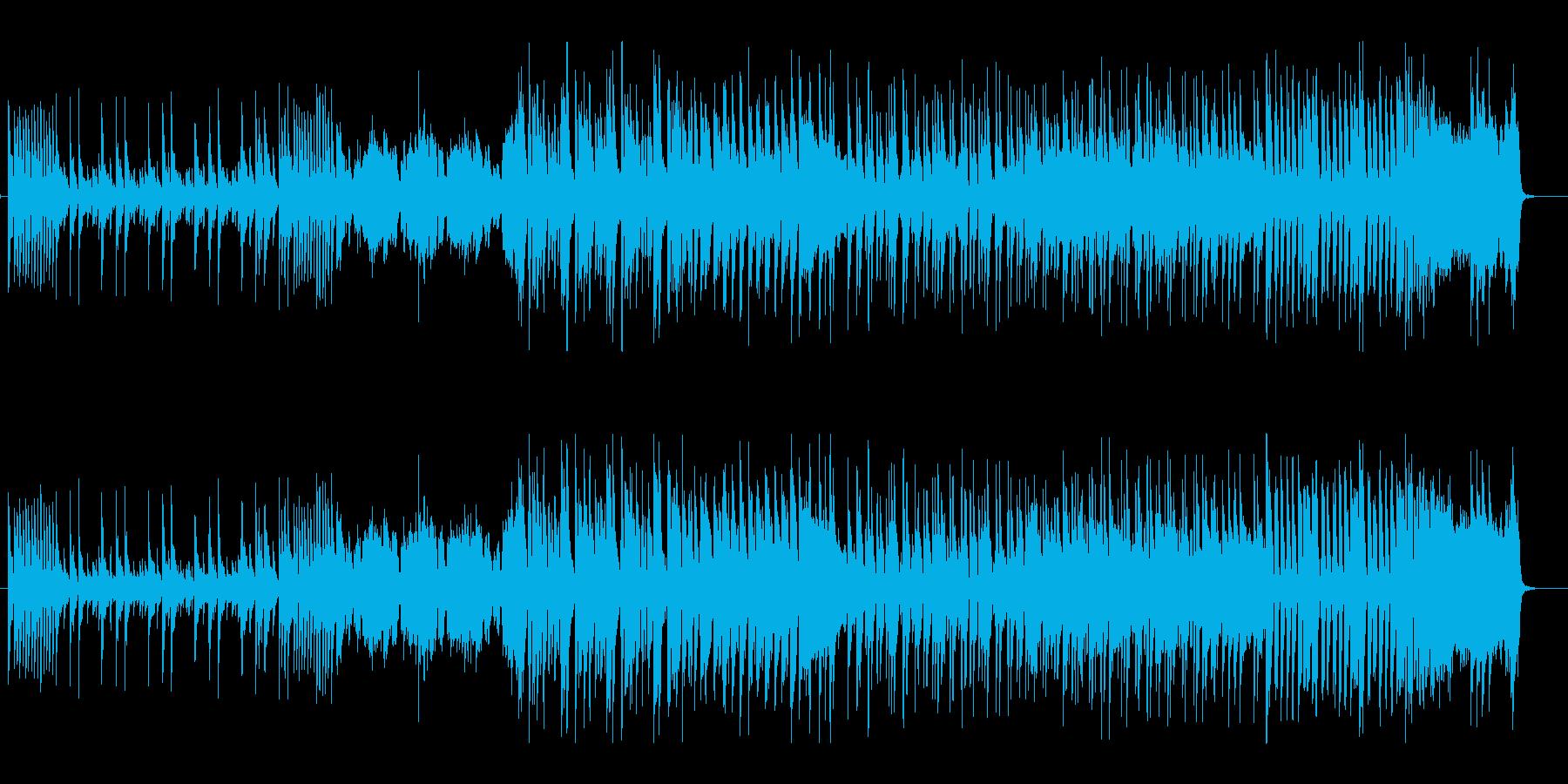コミカルなミクスチャーロックンロールの再生済みの波形