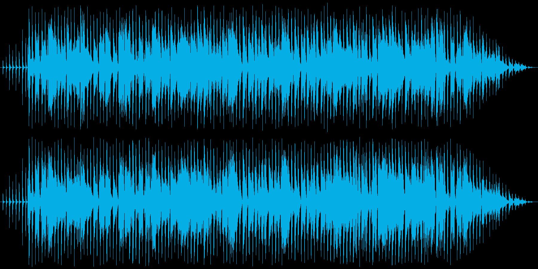 明るい感じのラグタイムピアノの再生済みの波形