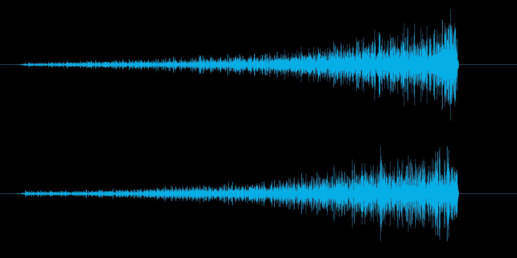 フワーッ(シリアス・緊迫状態を表す音)の再生済みの波形