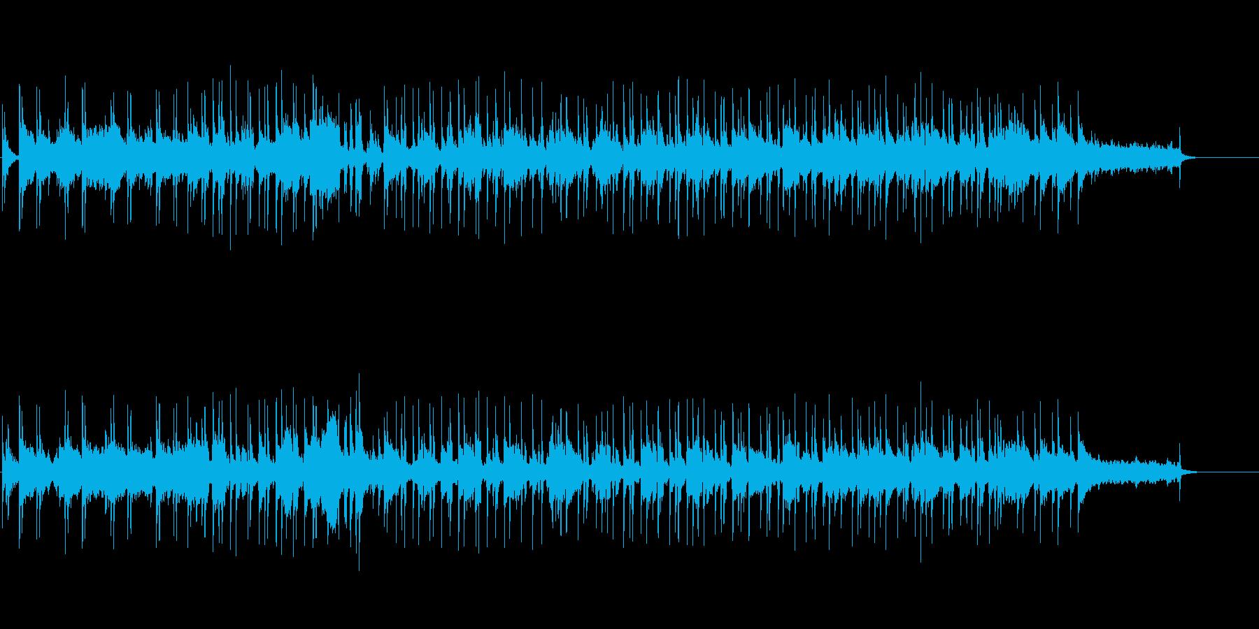 明るいオープニング(ホーンセクション)の再生済みの波形