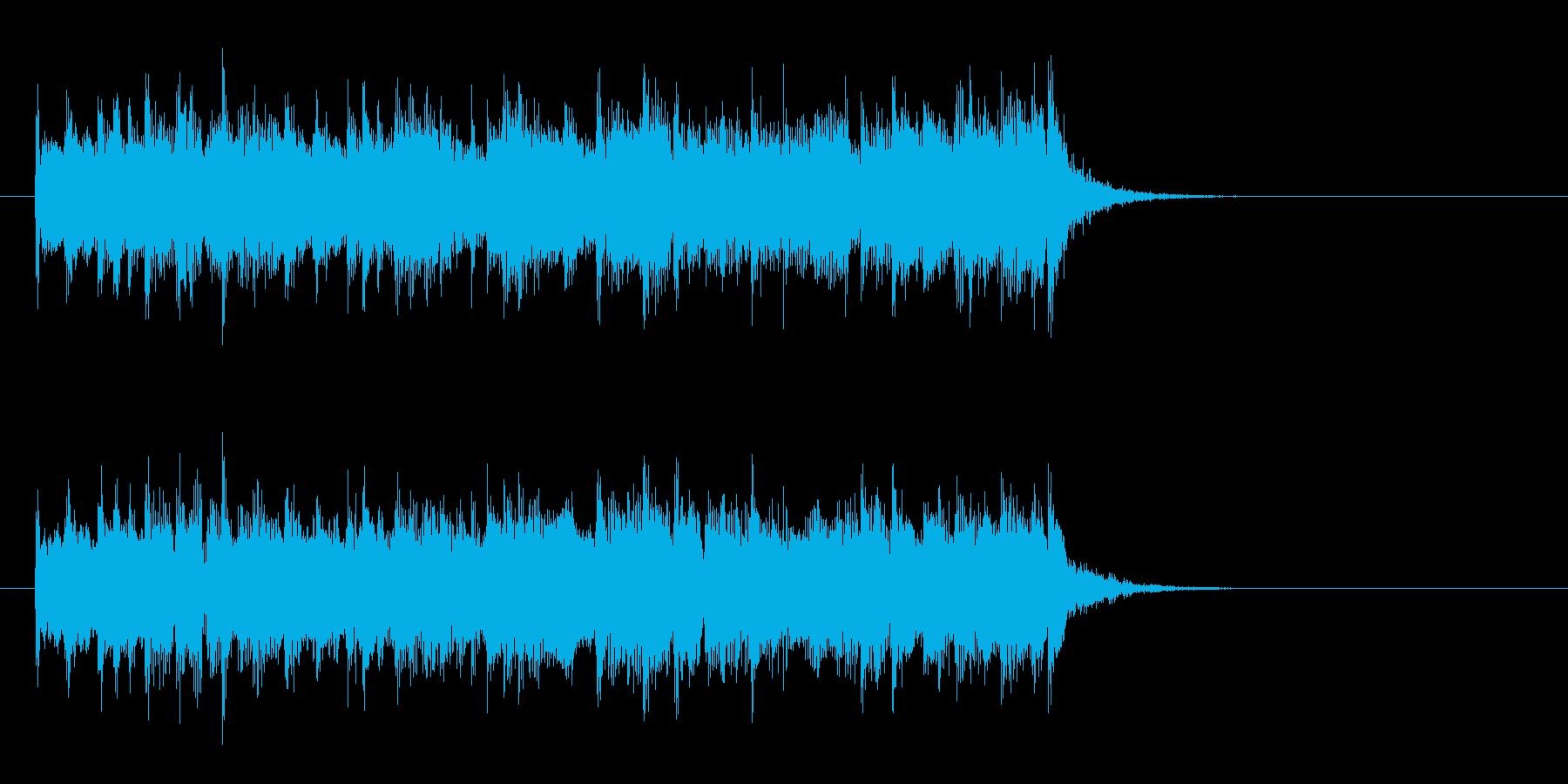 爽やかな8ビートポップス(イントロ)の再生済みの波形
