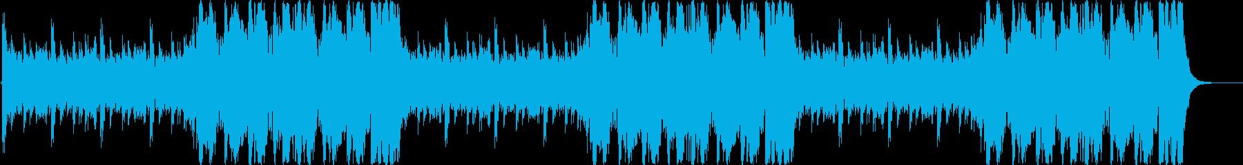 RPG フィールド「火山」30秒ループの再生済みの波形