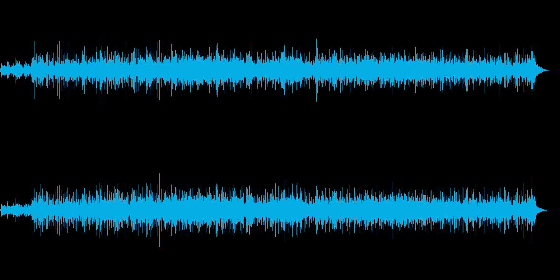 軽いタッチのフュージョンの再生済みの波形