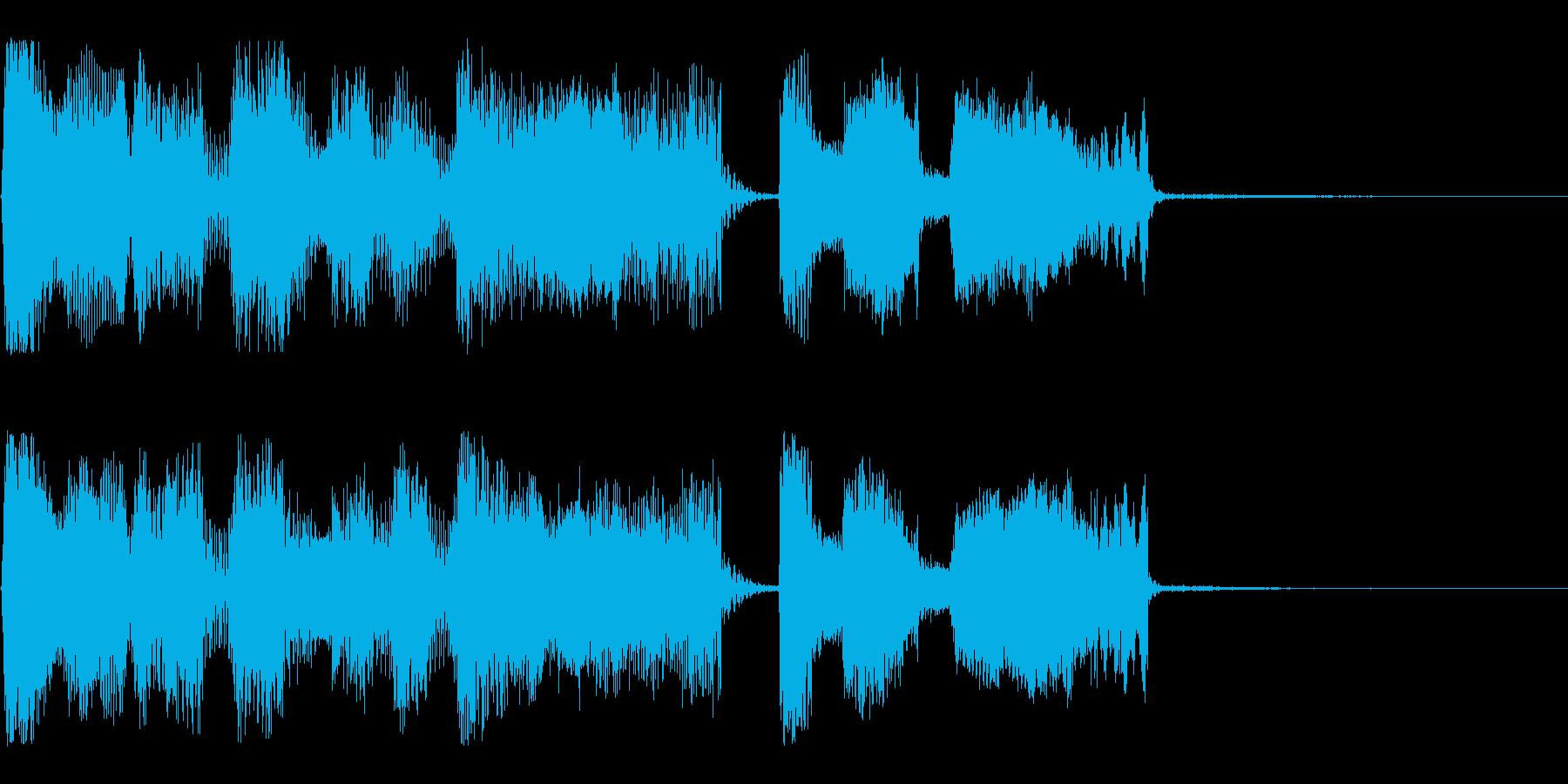 【パステルカラー2】の再生済みの波形