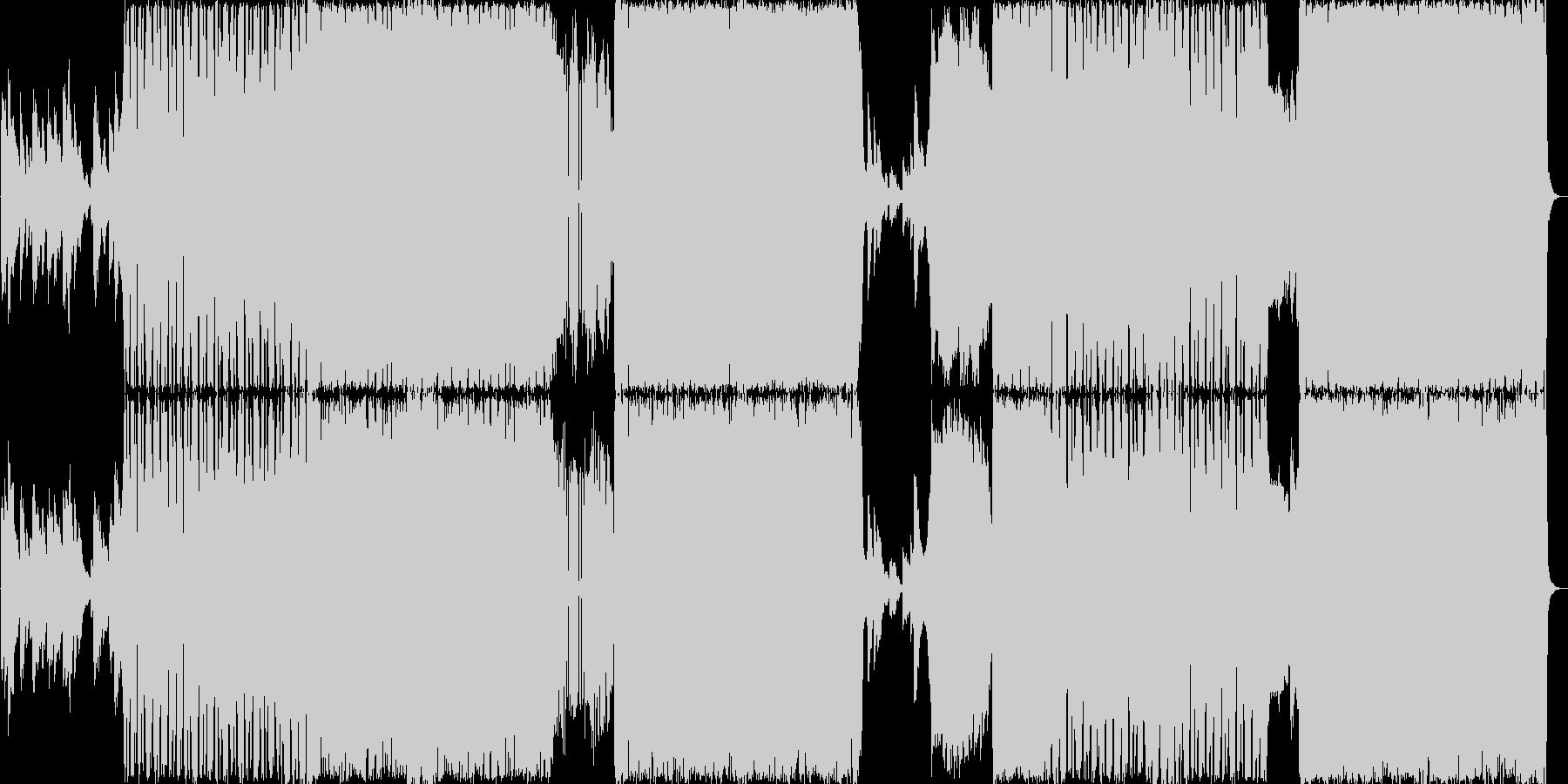 ドラムンベースです。タイトルのUran…の未再生の波形