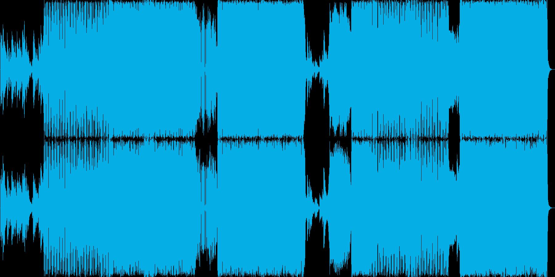 ドラムンベースです。タイトルのUran…の再生済みの波形