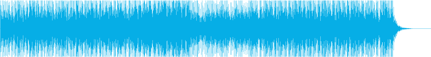 CMや映像に テクノロジーのある空間像の再生済みの波形