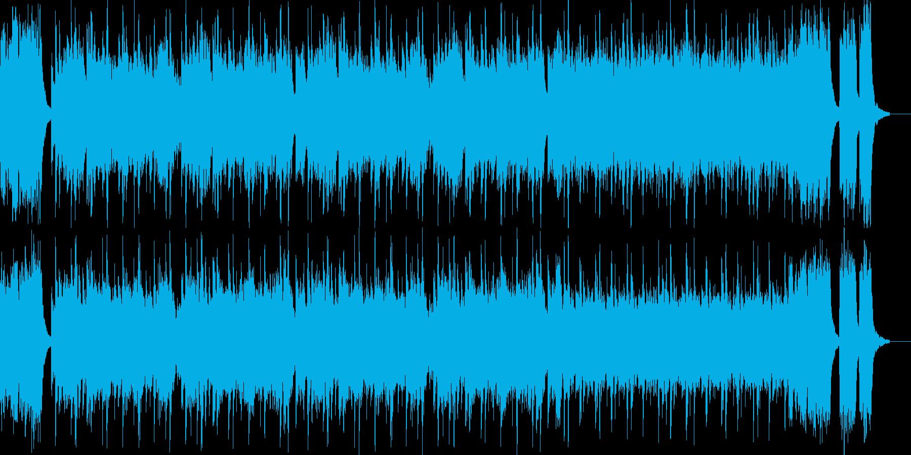 熱血ヒーロー・戦隊もの系の曲の再生済みの波形