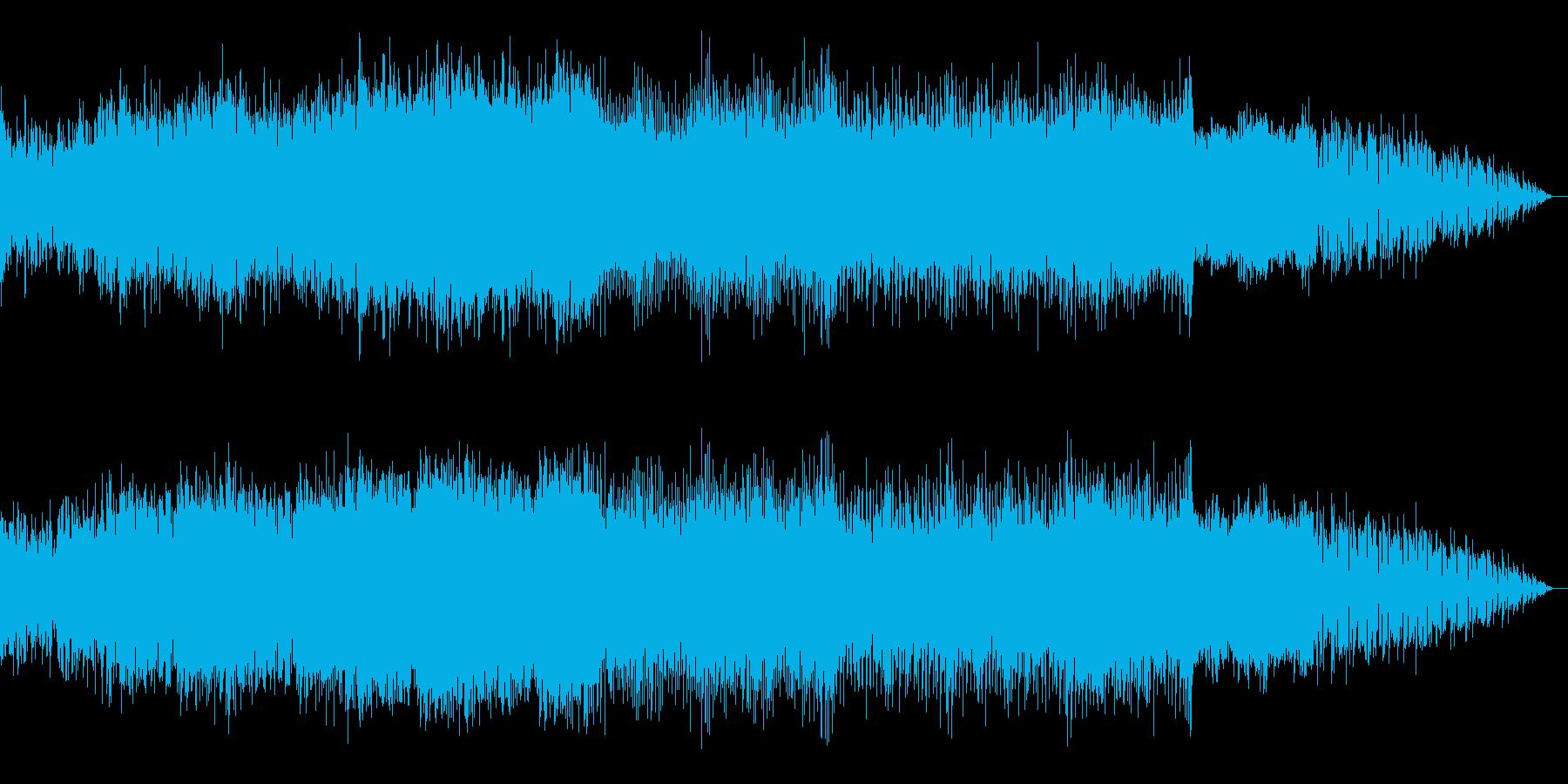 SF感漂うレトロウェーブの再生済みの波形