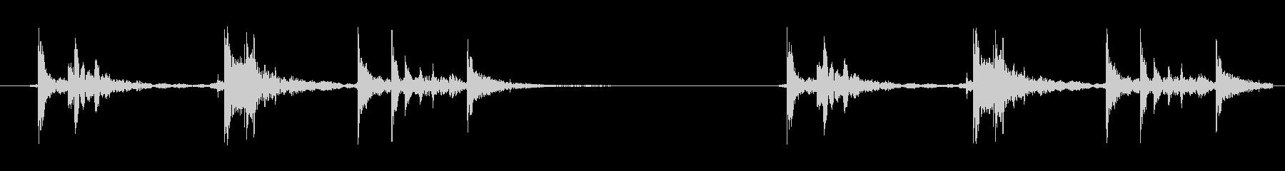 【空き缶/効果音/からんころん】の未再生の波形