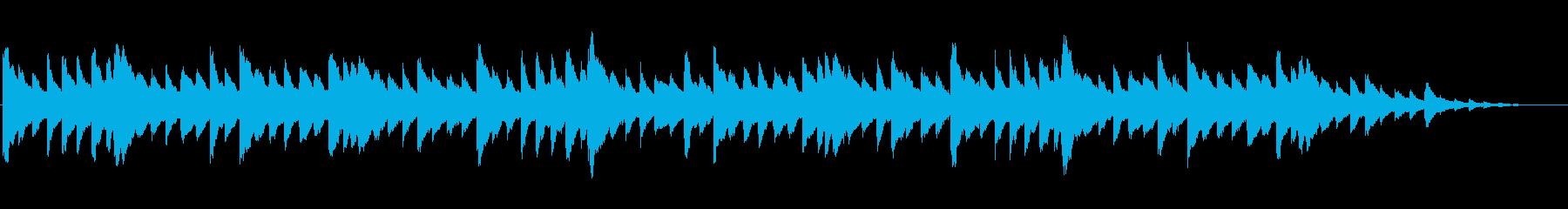 夜寝る時に聞きたいオルゴールの再生済みの波形
