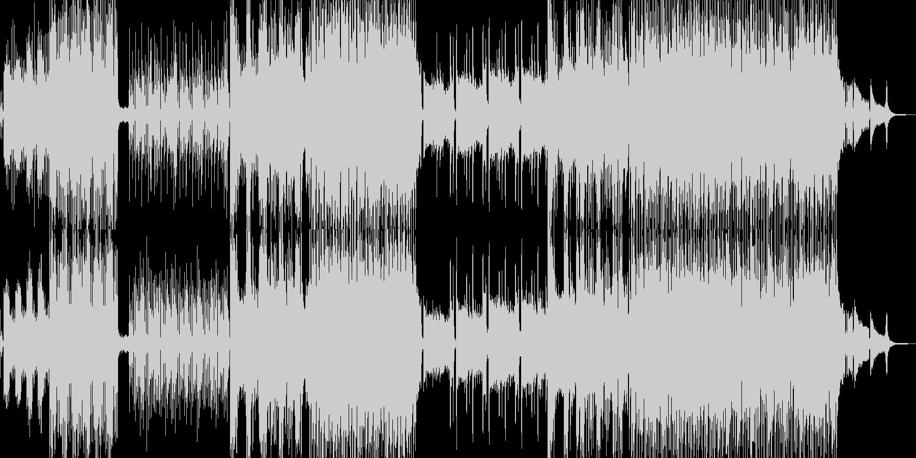 スイカと南風感じるトロピカルダンスの未再生の波形