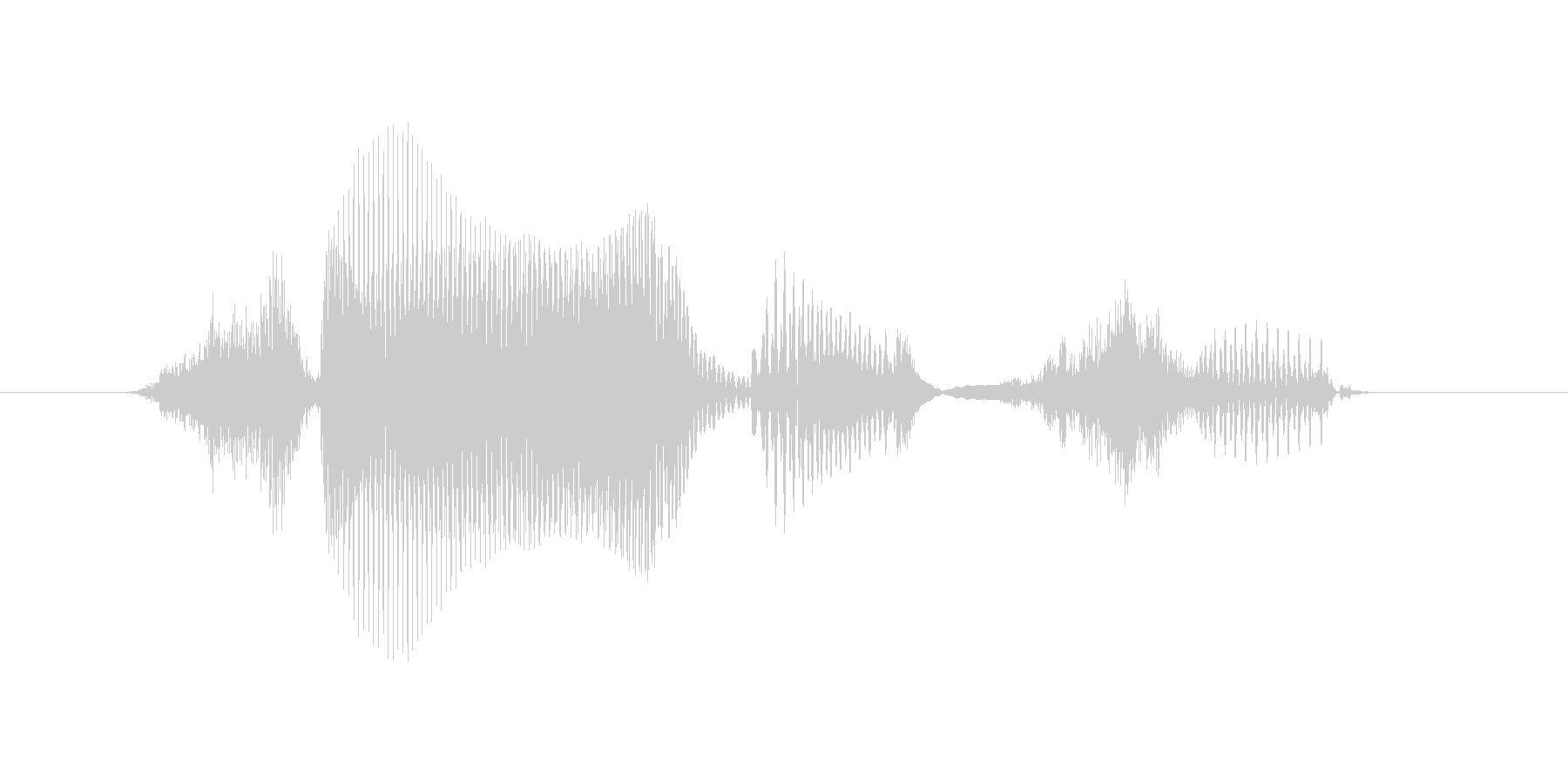 生物(せいぶつ)の未再生の波形