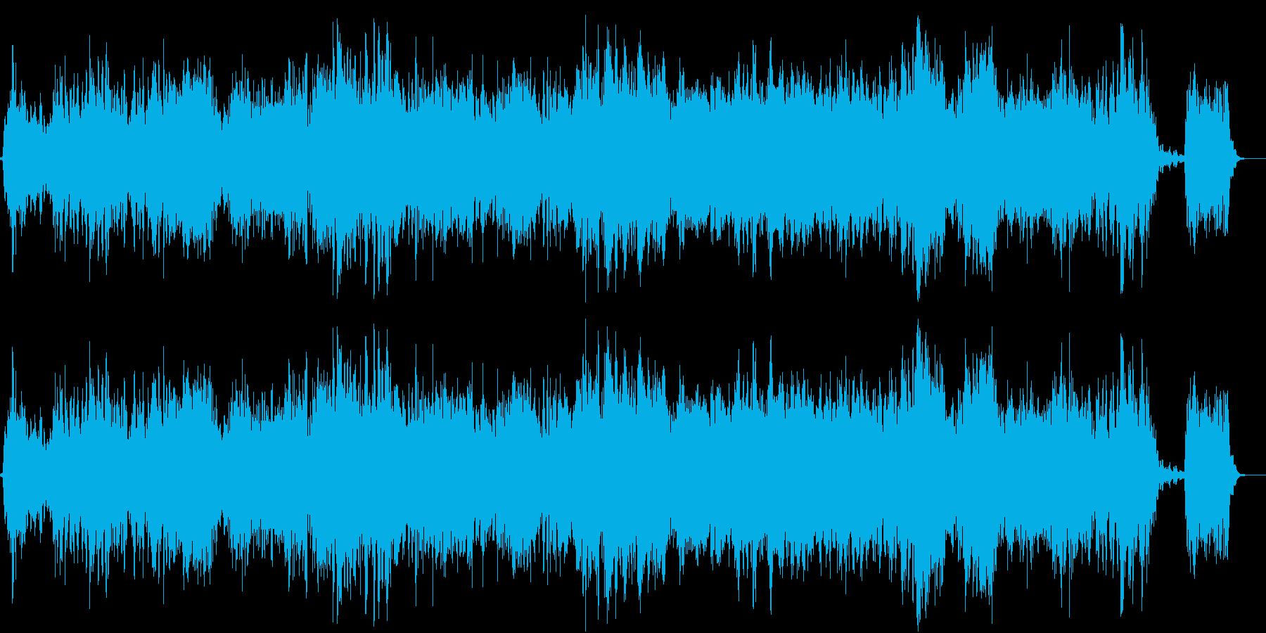 宇宙をイメージした曲です。の再生済みの波形