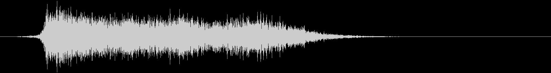 コミカルなダッシュ ジャンプ効果音10bの未再生の波形