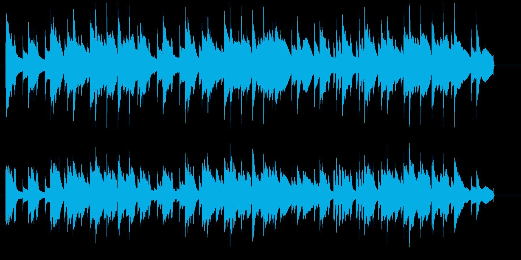 ゆったりリラックスできる曲です。の再生済みの波形