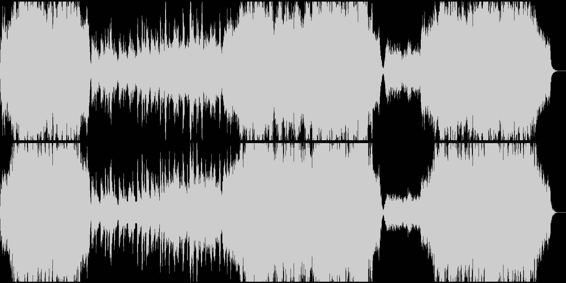 感動的なシーンに合う弦楽アサンブルBGMの未再生の波形