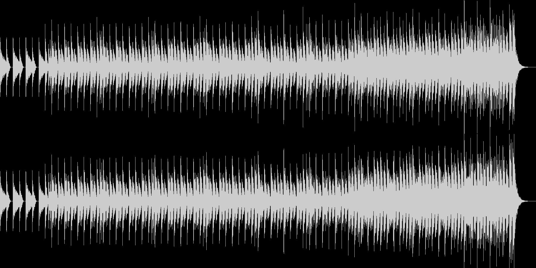 アンティークなトランスサウンドの未再生の波形