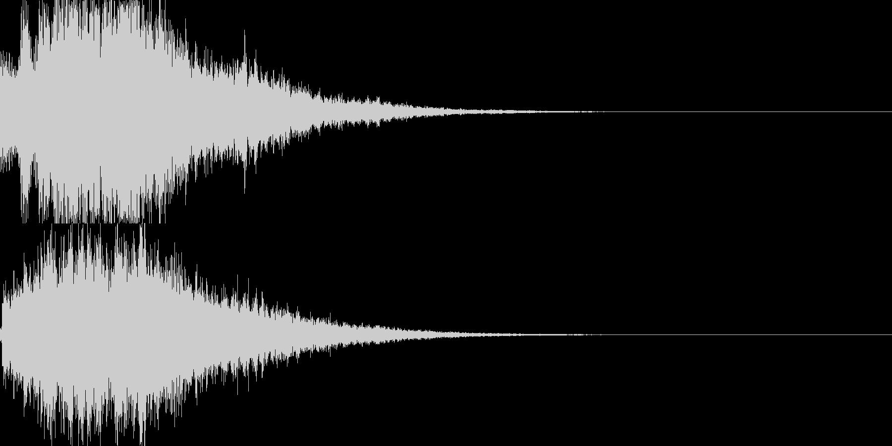 システム音28_シンセDXの未再生の波形