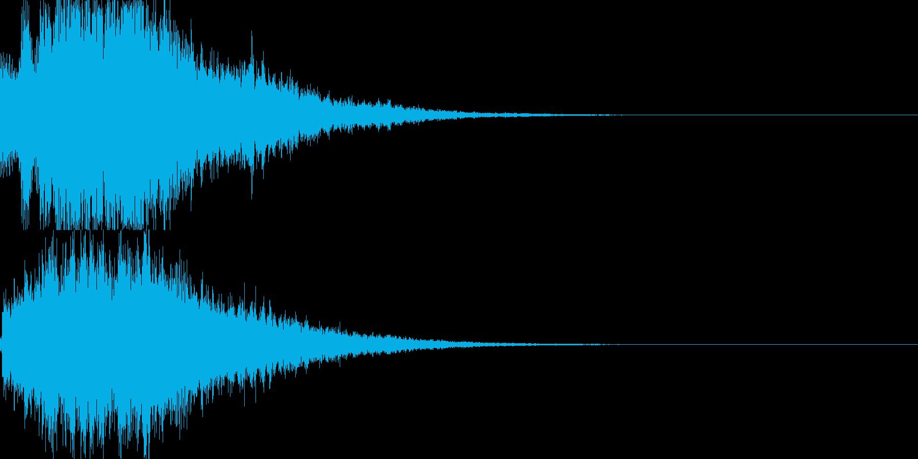 システム音28_シンセDXの再生済みの波形