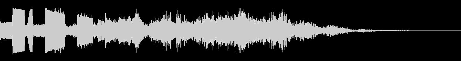 ゲーム用:決定音「ピリリリン」の未再生の波形
