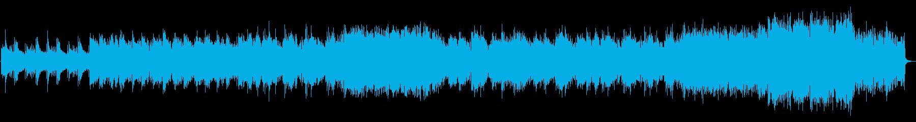 笛・箏など和楽器による切ないバラード曲の再生済みの波形