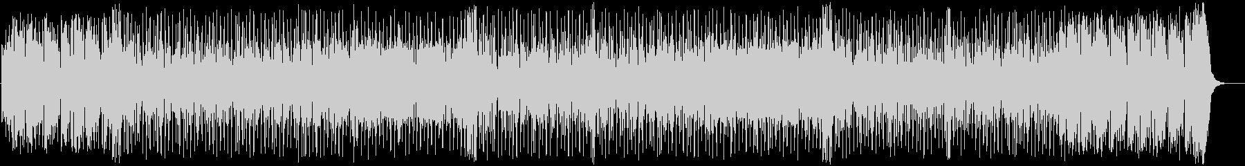 軽快でリズミカルなBGMの未再生の波形