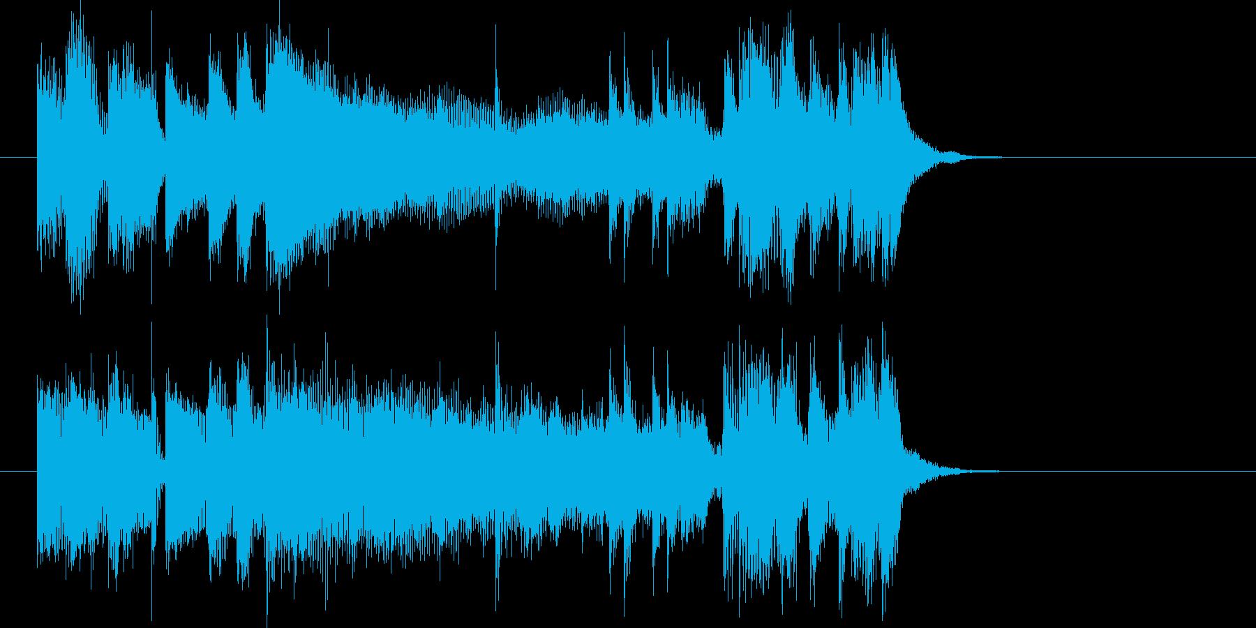 クイズ、謎、探索、スリル、追跡の再生済みの波形