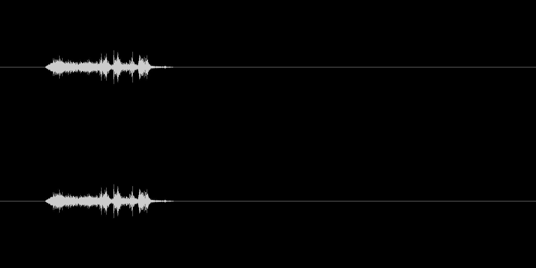 【本01-2(めくる)】の未再生の波形