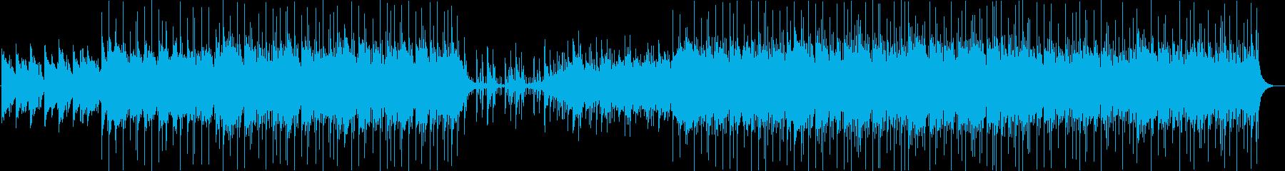 アコースティックな音のみを使ったちょっ…の再生済みの波形