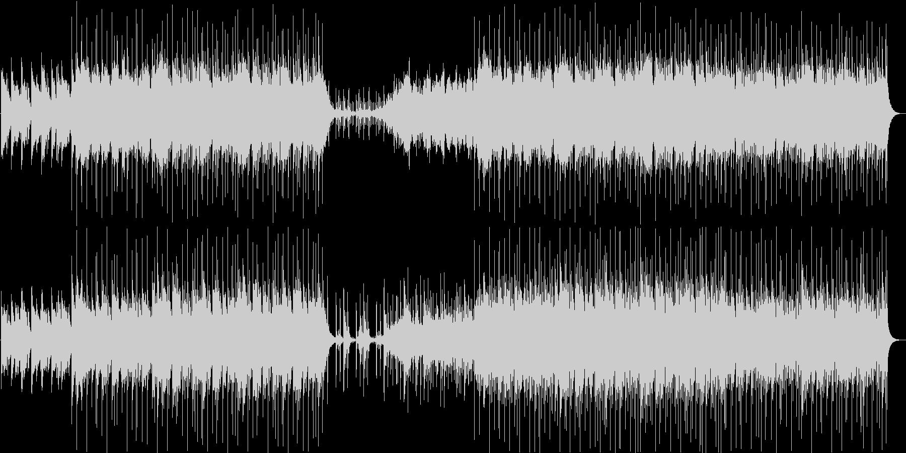 アコースティックな音のみを使ったちょっ…の未再生の波形
