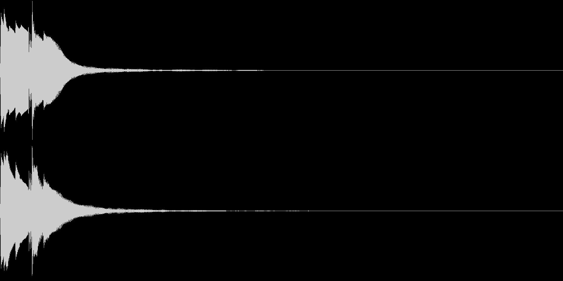 Command 電子音 コマンド ピコンの未再生の波形