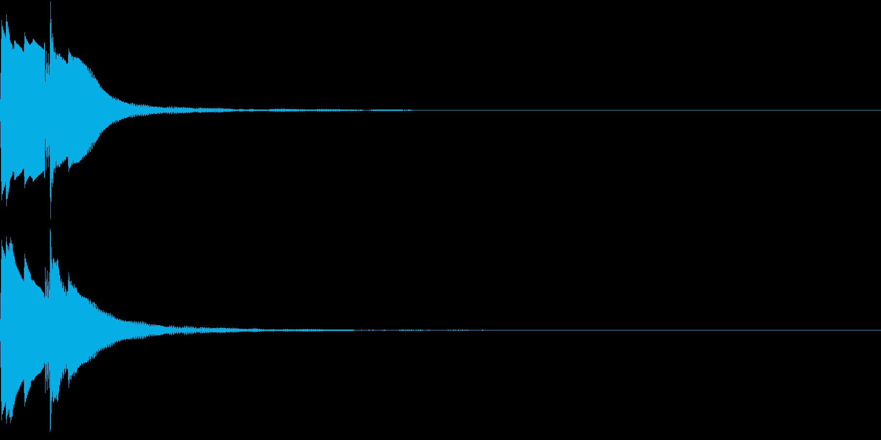 Command 電子音 コマンド ピコンの再生済みの波形