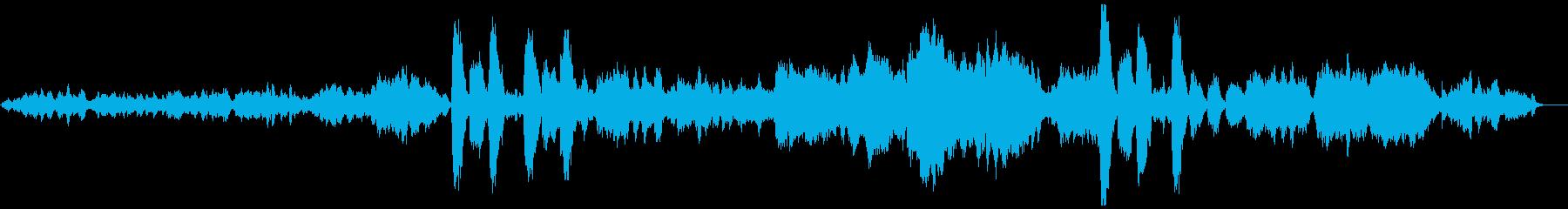 「シシリエンヌ」 オーケストラの再生済みの波形