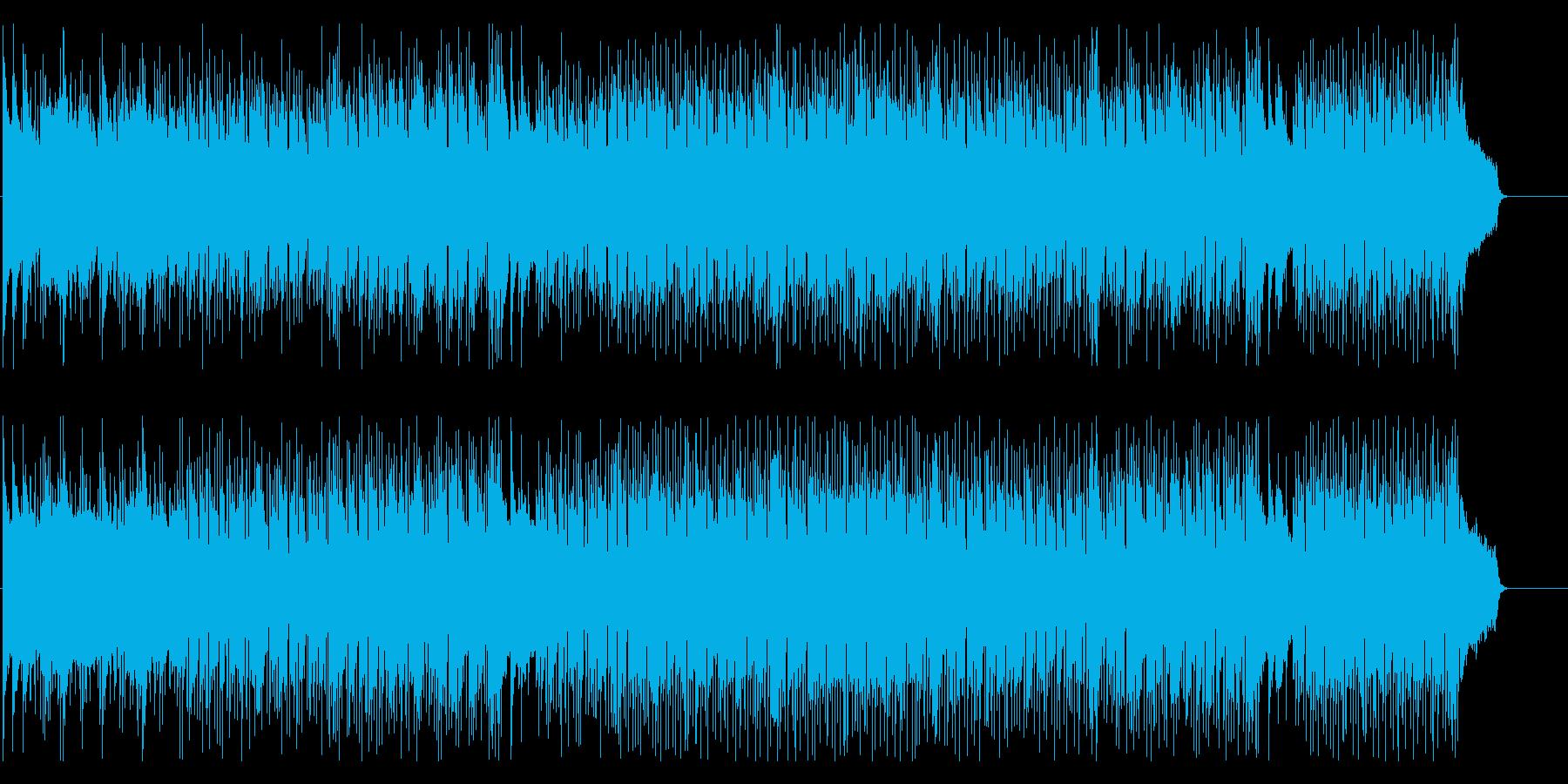 情報 天気予報 さわやか 軽快 いきいきの再生済みの波形