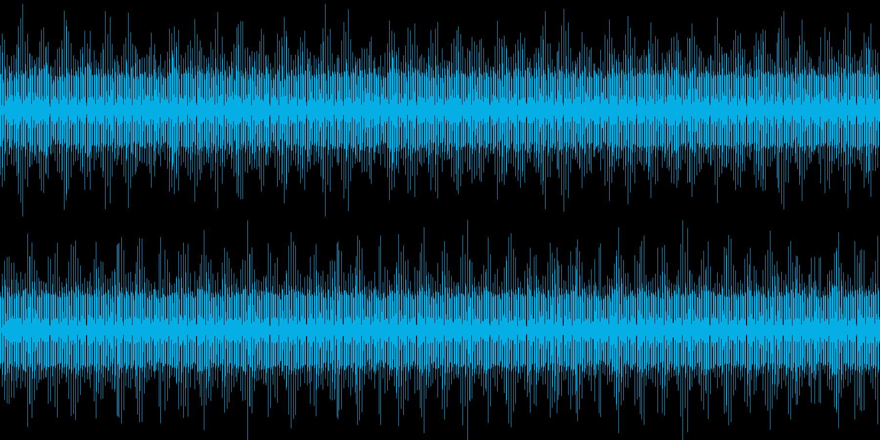ほのぼのとした日常、ループBGMの再生済みの波形