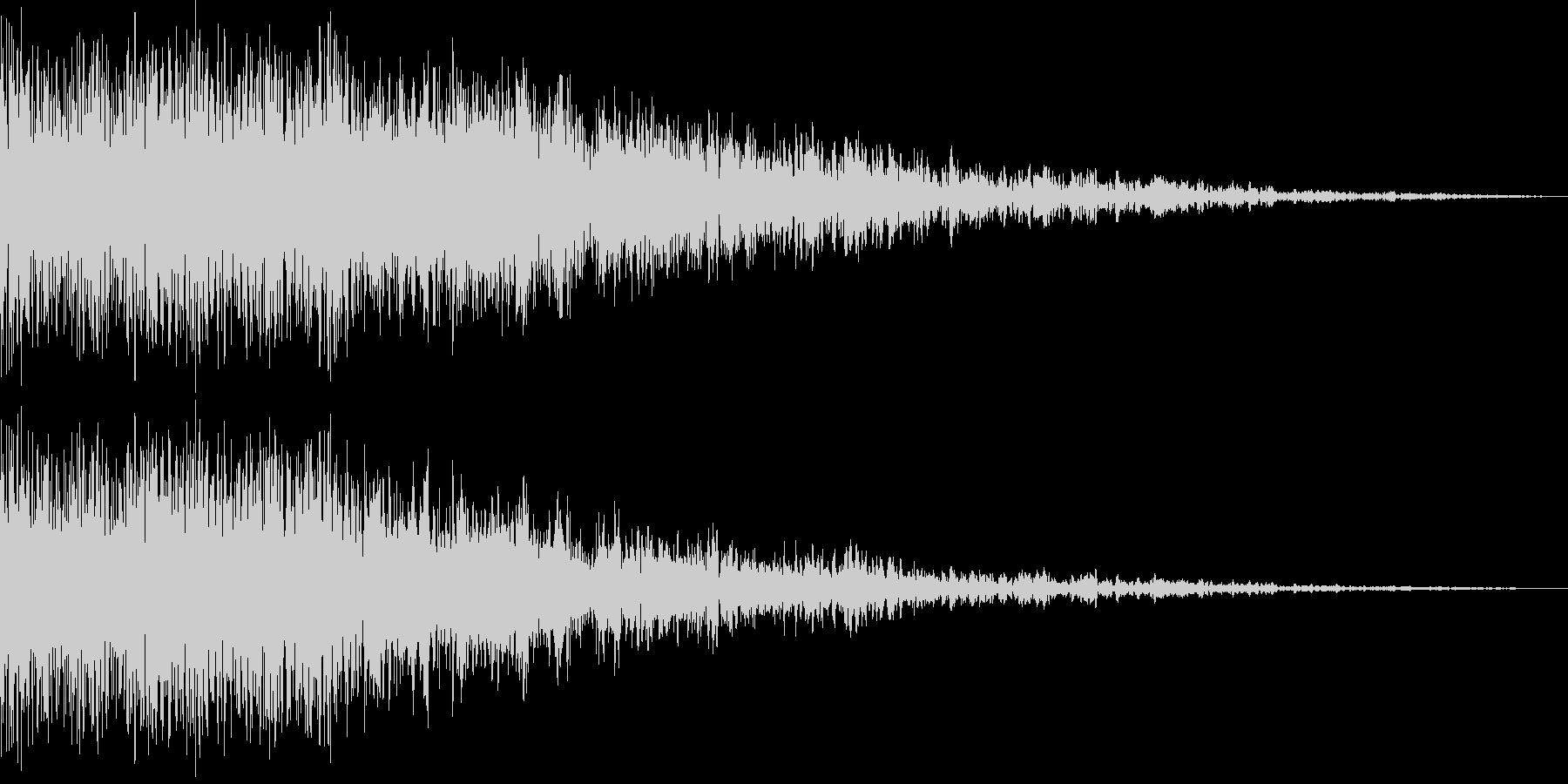 垂直噴射(垂直離着陸の表現に使える)の未再生の波形