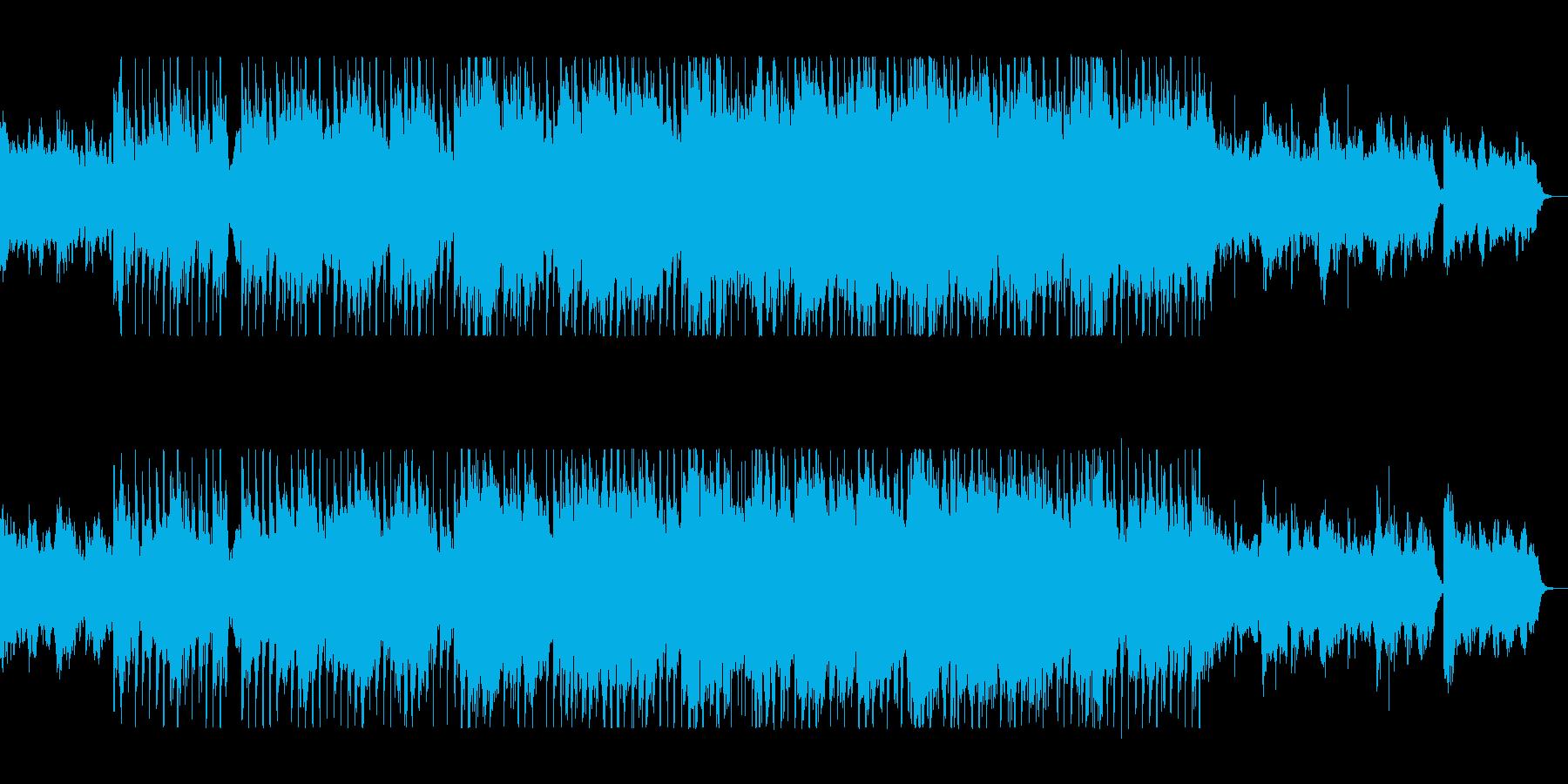 のびやかで壮大なサウンドの再生済みの波形