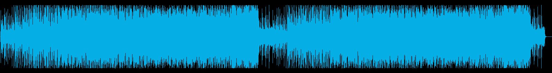 琴と笛の切ない和風音楽の再生済みの波形