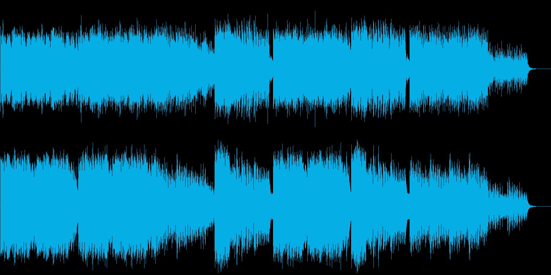 映像BGM 引き込まれる心地よい異空間の再生済みの波形