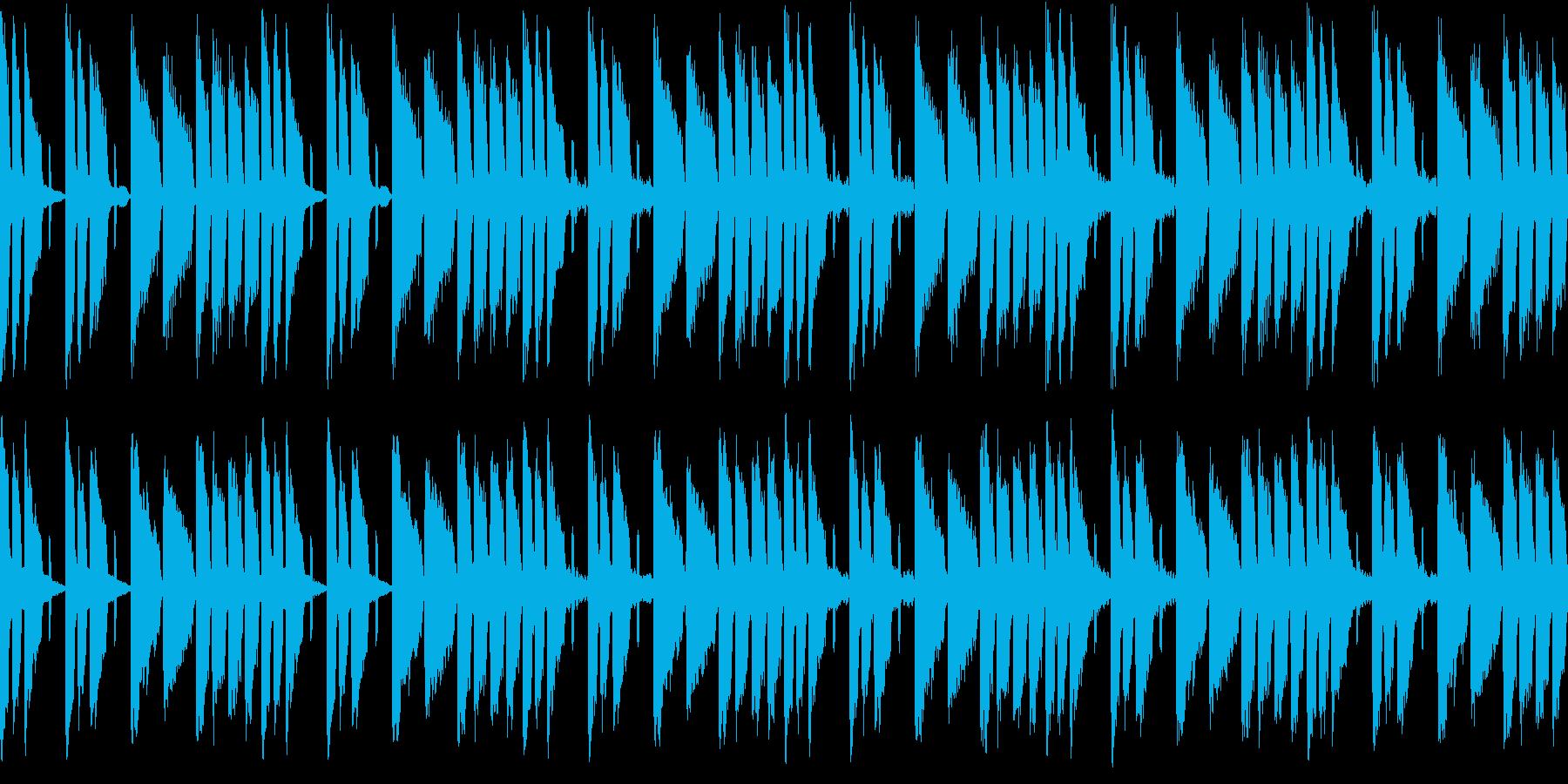 勇気をだして挑戦するな曲(ループ仕様)の再生済みの波形