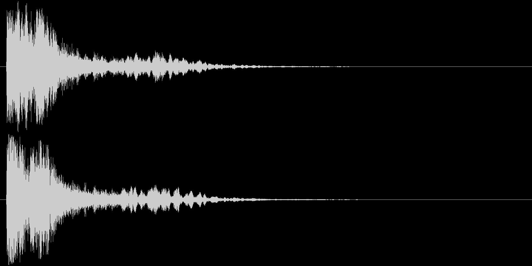 ポリン、ピピポ(電子音)の未再生の波形